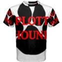 Plott Hound Name Paw Men s Cotton Tee View1