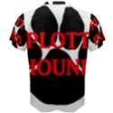 Plott Hound Name Paw Men s Cotton Tee View2