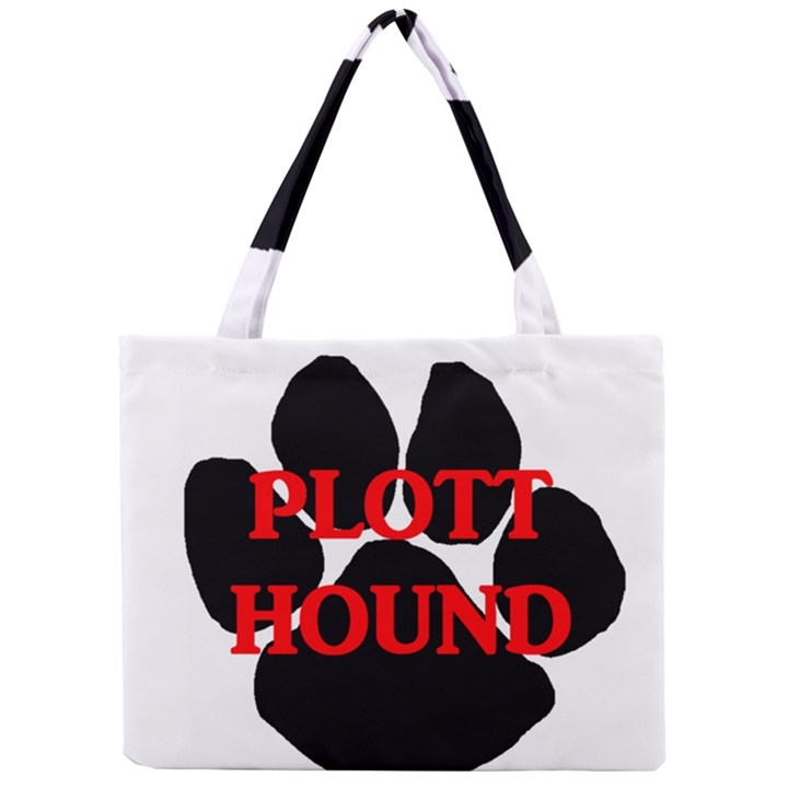 Plott Hound Name Paw Mini Tote Bag