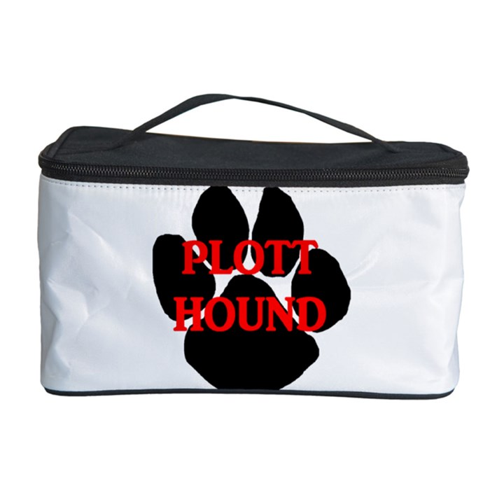 Plott Hound Name Paw Cosmetic Storage Case
