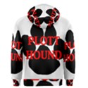 Plott Hound Name Paw Men s Zipper Hoodie View2