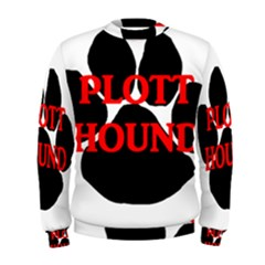 Plott Hound Name Paw Men s Sweatshirt