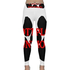 Plott Hound Name Paw Yoga Leggings