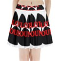 Plott Hound Name Paw Pleated Mini Skirt View1