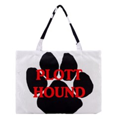 Plott Hound Name Paw Medium Tote Bag