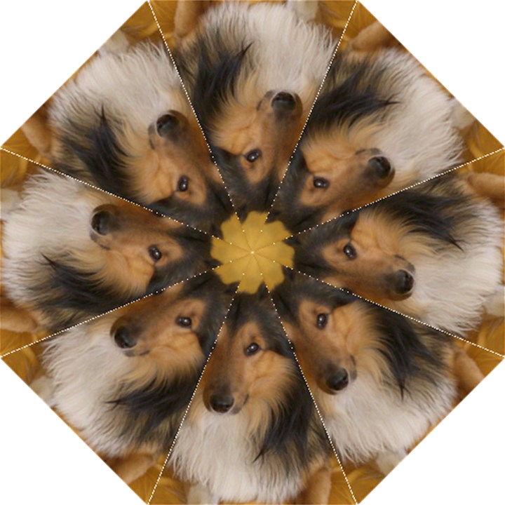 Shetland Sheepdog Straight Umbrellas