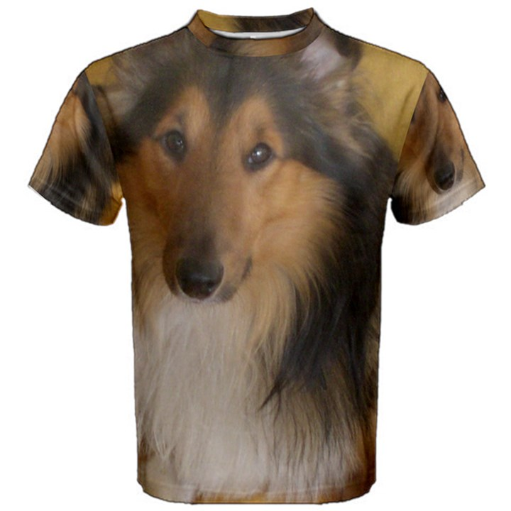 Shetland Sheepdog Men s Cotton Tee
