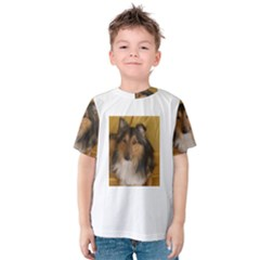 Shetland Sheepdog Kids  Cotton Tee