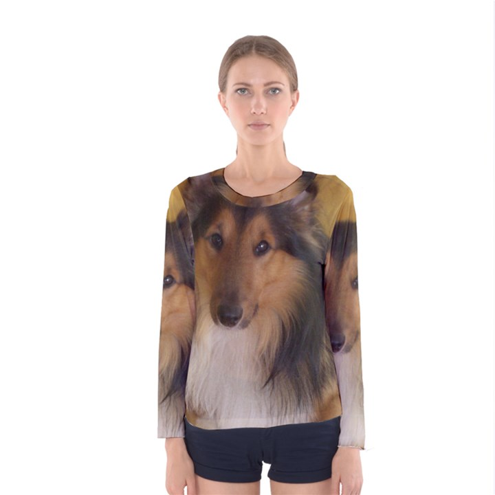 Shetland Sheepdog Women s Long Sleeve Tee