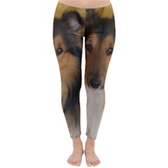 Shetland Sheepdog Winter Leggings