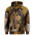 Shetland Sheepdog Men s Zipper Hoodie View1