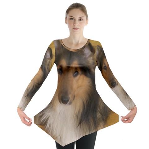 Shetland Sheepdog Long Sleeve Tunic