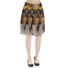Shetland Sheepdog Pleated Skirt
