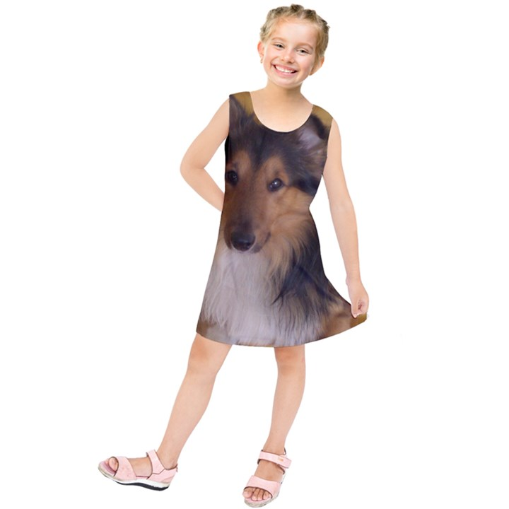 Shetland Sheepdog Kids  Tunic Dress