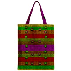 A Wonderful Rainbow And Stars Classic Tote Bag