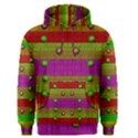 A Wonderful Rainbow And Stars Men s Pullover Hoodie View1