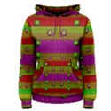 A Wonderful Rainbow And Stars Women s Pullover Hoodie View1