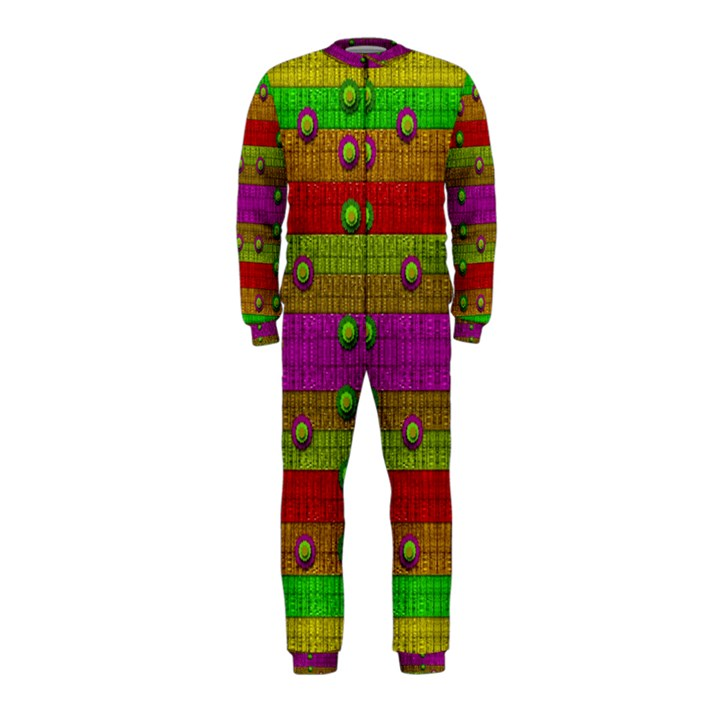 A Wonderful Rainbow And Stars OnePiece Jumpsuit (Kids)