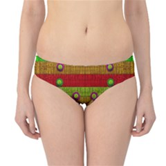 A Wonderful Rainbow And Stars Hipster Bikini Bottoms