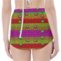A Wonderful Rainbow And Stars High-Waisted Bikini Bottoms View2