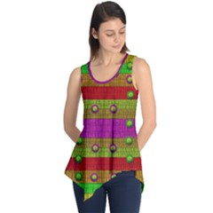 A Wonderful Rainbow And Stars Sleeveless Tunic