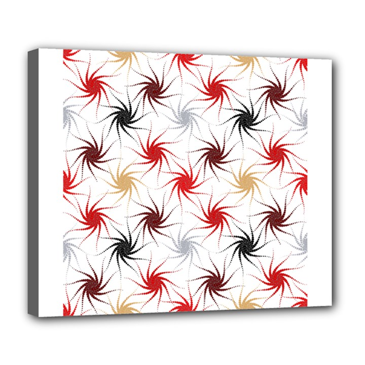 Pearly Pattern Deluxe Canvas 24  x 20