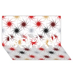 Pearly Pattern SORRY 3D Greeting Card (8x4)