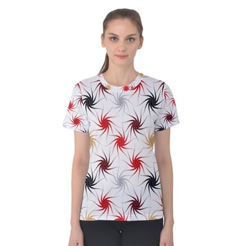Pearly Pattern Women s Cotton Tee