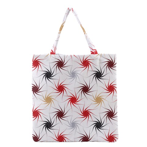 Pearly Pattern Grocery Tote Bag