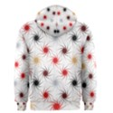 Pearly Pattern Men s Zipper Hoodie View2