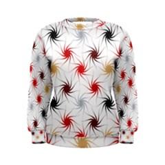 Pearly Pattern Women s Sweatshirt