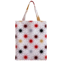 Pearly Pattern Zipper Classic Tote Bag