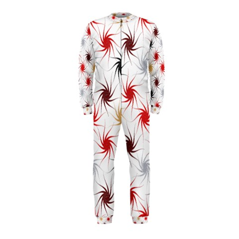 Pearly Pattern OnePiece Jumpsuit (Kids)