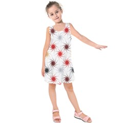 Pearly Pattern Kids  Sleeveless Dress