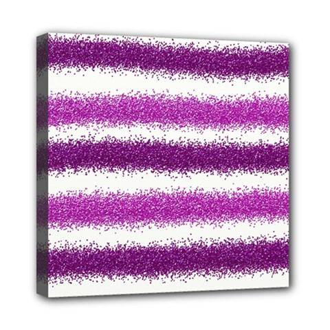 Pink Christmas Background Mini Canvas 8  x 8