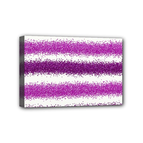 Pink Christmas Background Mini Canvas 6  x 4