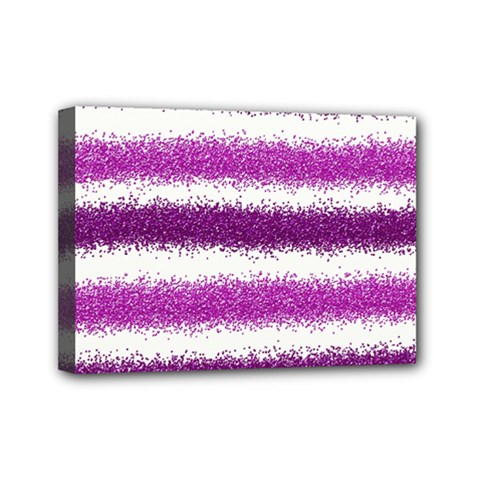 Pink Christmas Background Mini Canvas 7  x 5