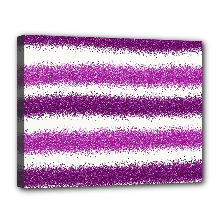 Pink Christmas Background Canvas 14  x 11
