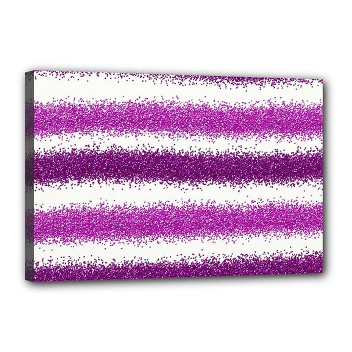 Pink Christmas Background Canvas 18  x 12