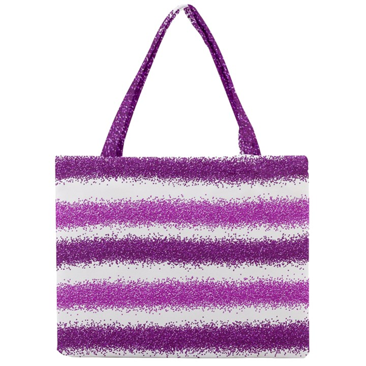 Pink Christmas Background Mini Tote Bag