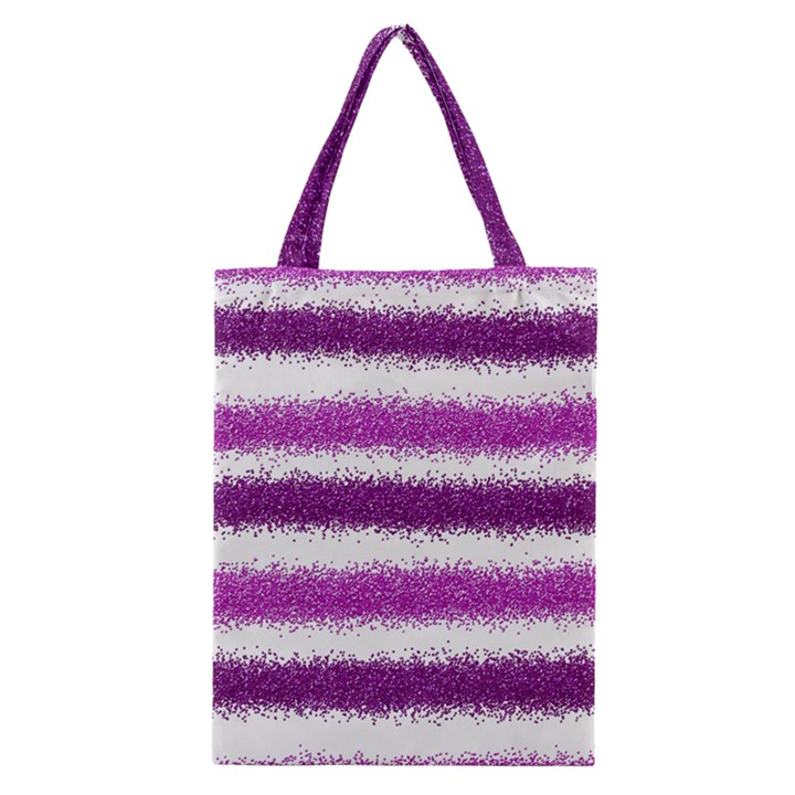 Pink Christmas Background Classic Tote Bag
