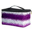 Pink Christmas Background Cosmetic Storage Case View3