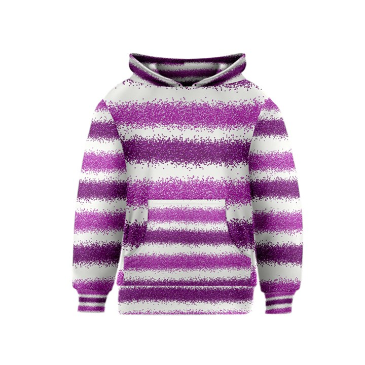 Pink Christmas Background Kids  Pullover Hoodie