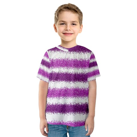 Pink Christmas Background Kids  Sport Mesh Tee