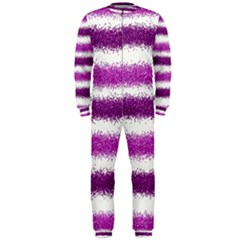 Pink Christmas Background OnePiece Jumpsuit (Men)
