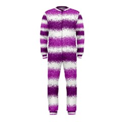 Pink Christmas Background OnePiece Jumpsuit (Kids)