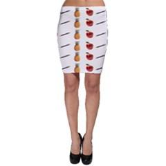 Ppap Pen Pineapple Apple Pen Bodycon Skirt