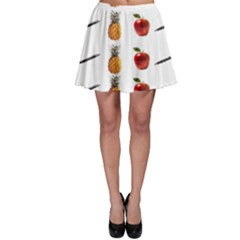 Ppap Pen Pineapple Apple Pen Skater Skirt