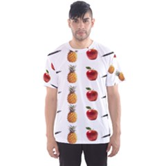 Ppap Pen Pineapple Apple Pen Men s Sport Mesh Tee