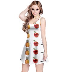 Ppap Pen Pineapple Apple Pen Reversible Sleeveless Dress